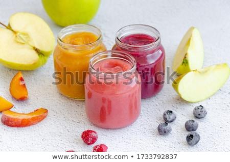 Fruit puree and fresh fruit Stock photo © Digifoodstock