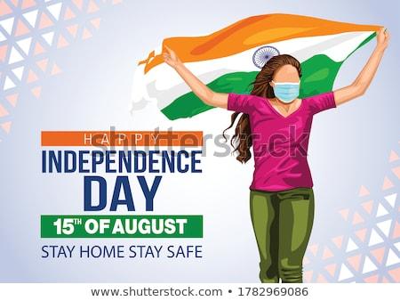 Concept of Independence stock photo © dzejmsdin