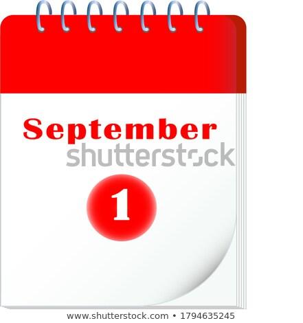 календаря · первый · компьютер · интернет · школы - Сток-фото © Oakozhan