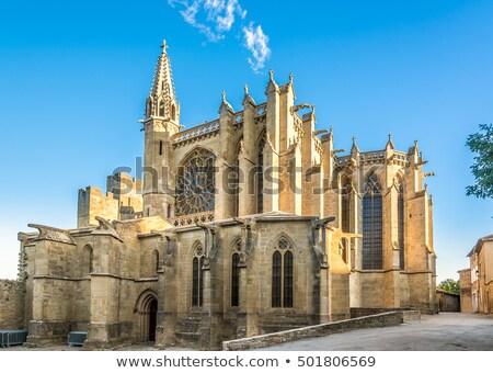 Szent bazilika ablak művészet építészet vallás Stock fotó © njaj