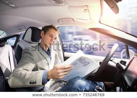 Autonomous Driving Autopilot Stock photo © Lightsource
