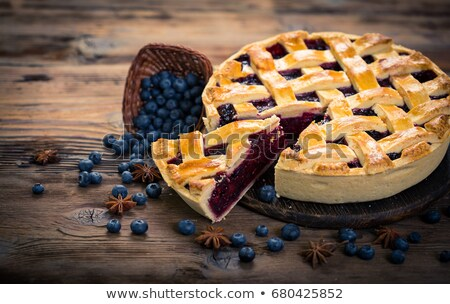 Blueberry Pie and Berries Stock photo © StephanieFrey