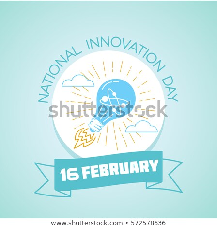 16 February  National Innovation Day Stock photo © Olena