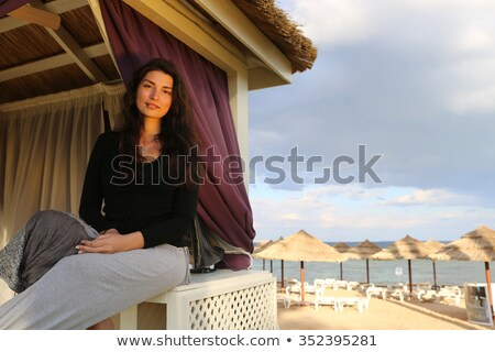 Desert dunes, colorful vibrant travel theme Stock photo © JanPietruszka