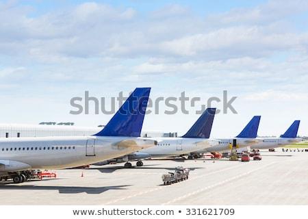 изометрический · самолет · современных · двигатель · воздуха · полет - Сток-фото © studioworkstock