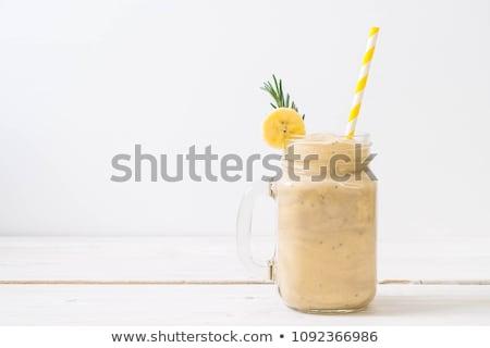 banana smoothie or milkshake Stock photo © M-studio