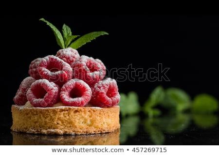 Apetitoso queijo torta decorações Foto stock © simply