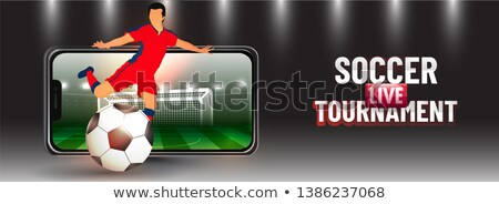 Football Russia Smartphone Header Stock photo © limbi007