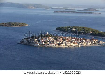 Turistica destinazione panoramica arcipelago view Foto d'archivio © xbrchx