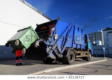 geri · dönüşüm · iş · konteyner · lastikler · araba · sanayi - stok fotoğraf © blasbike