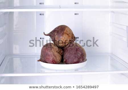 cook cleans beet Stock photo © OleksandrO