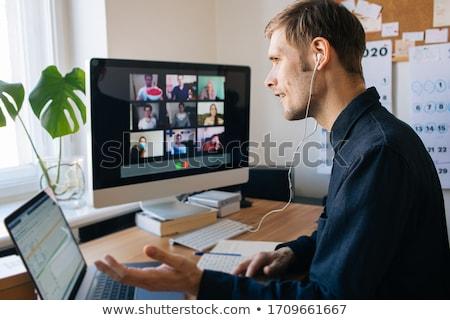 indio · software · revelador · proyección · programación · código - foto stock © dolgachov