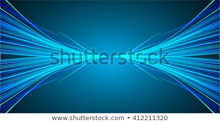 glowing blue fast motion speed lines background Stock photo © SArts