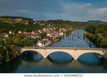 Eglisau - Splendid Swiss Swiss historicl town  Stock photo © lightpoet
