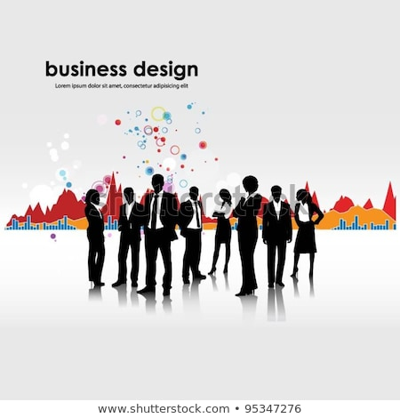Business People Increasing Capital and Profits Stock photo © robuart