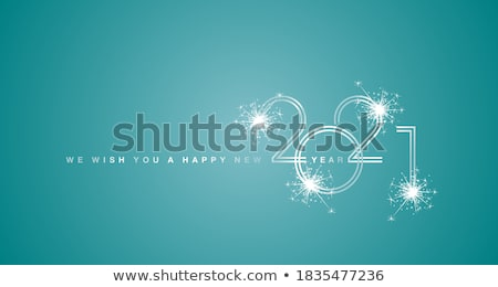 christmas and new year line design style vector banners stock photo © decorwithme