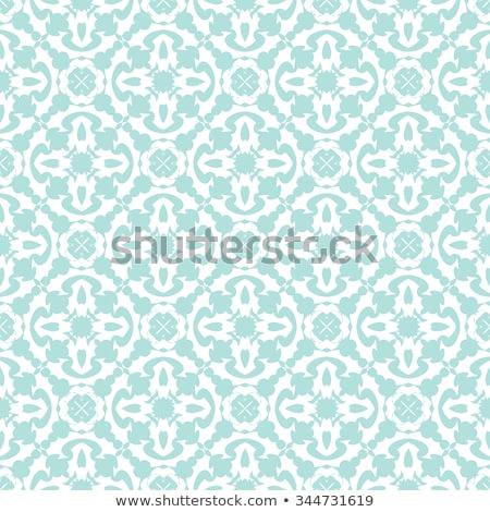 Gekruld naadloos geometrisch patroon vector stijlvol oneindig Stockfoto © ExpressVectors