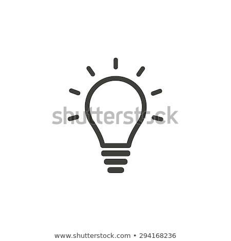 флуоресцентный изолированный белый лампы Сток-фото © olgaaltunina