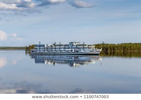 Cruiseschip rivier Rusland witte kanaal water Stockfoto © borisb17