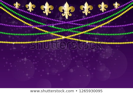 Mardi Gras background with carnival mask Stock photo © furmanphoto