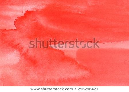 Elegante vermelho aquarela agitar-se textura mancha Foto stock © SArts