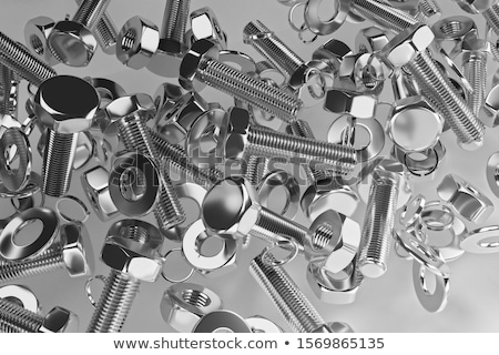 Industrial fastener illustration Stock photo © Zela