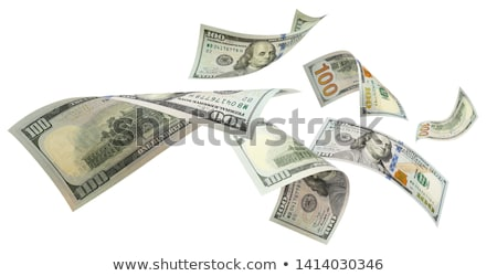 Geld Dollar Cash isoliert Hintergrund Stock foto © yupiramos