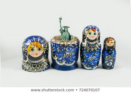 Matryoshka America Stock photo © sahua