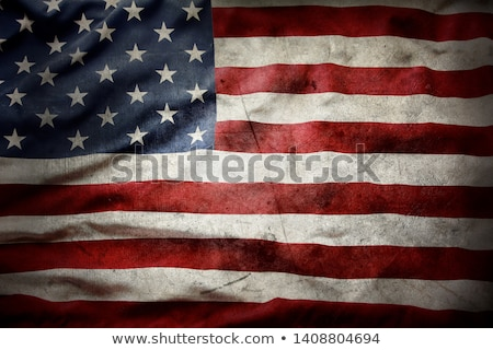 grunge flag of united states stock photo © orson