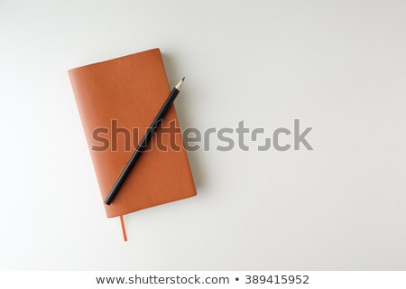 View of book and pencils stock photo © stockfrank