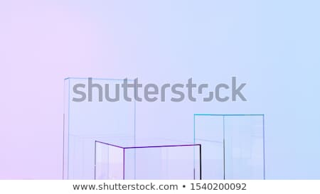 padrão · vidro · parede · blocos · projeto - foto stock © vichie81