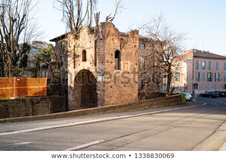 Medieval Town Wall Stock photo © Alvinge