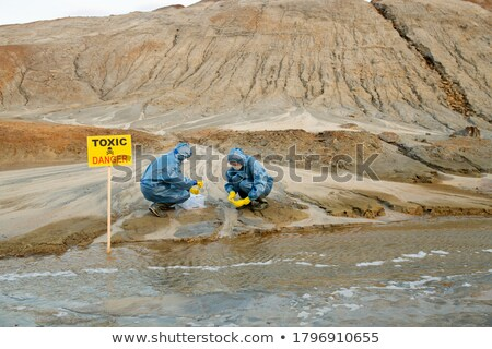 A road worker against wasting. Stock photo © photography33
