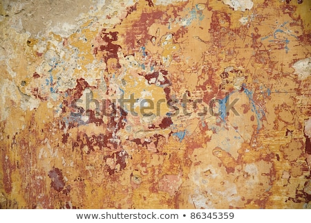 peeling paint texture with several warm colors Stock photo © travelphotography