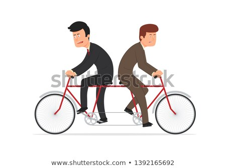 Two businessman pulling in different directions Stock photo © photography33