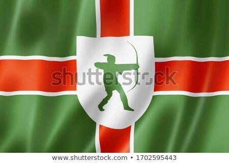 Flag Of County Of Nottinghamshire ストックフォト © Daboost