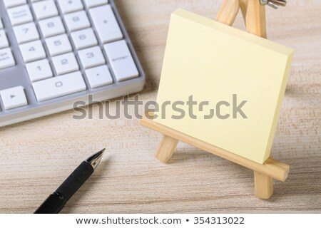 Alzheimer Reminder Office Note Stock photo © Lightsource