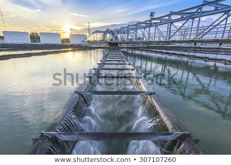 plant for waste treatment Stock photo © xedos45