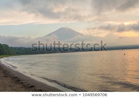 Hermosa volcán fuji paisaje nieve belleza Foto stock © JohnKasawa