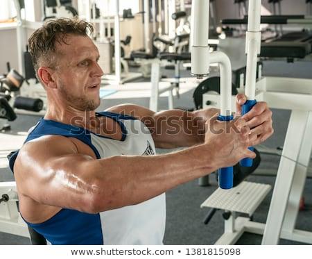 Pumping muscles  Stock photo © jayfish