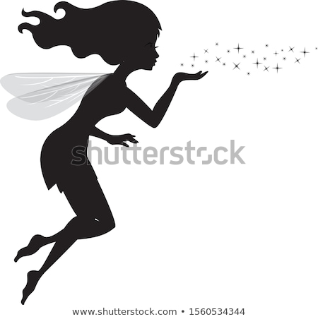 Magical Fairy Girl Blows Stardust Stock photo © cidepix