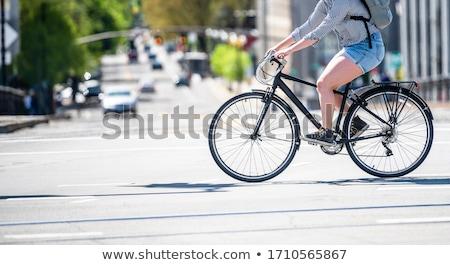 歩行者 サイクリスト 橋 マルタ 湖 水 ストックフォト © janhetman