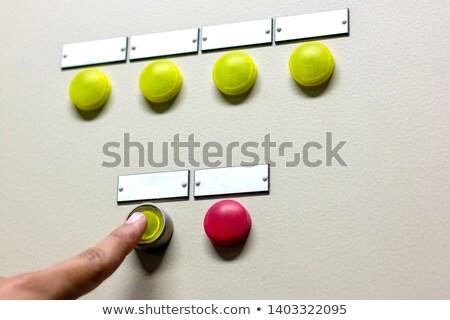 手 赤 ビジネス 技術 にログイン ストックフォト © FrameAngel