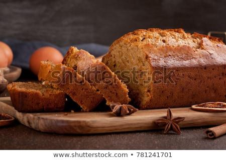 Ginger cake Stock photo © Hofmeester