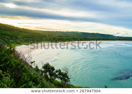 The Surf at Broken Head Beach Stock photo © silkenphotography