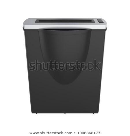 Shredder isolated Stock photo © shutswis
