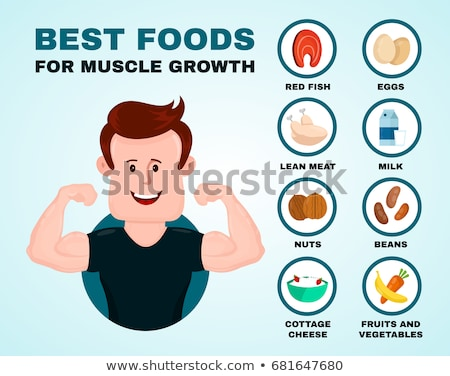 Coração músculos coração saudável homem esportes médico Foto stock © shawlinmohd