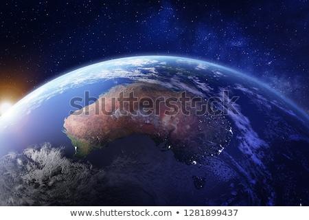 ночь · поверхность · планете · Земля · Элементы · изображение · небе - Сток-фото © harlekino