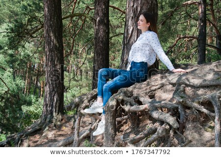 Stunning,gorgeous,striking,beautiful,dazzling,staggering,pretty,nice girl with big green.Very beauti Stock photo © ANessiR