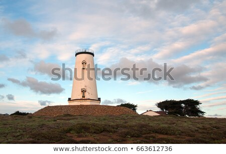 Piedras Blancas Light Station San Simeon California Lighthouse Stock photo © cboswell